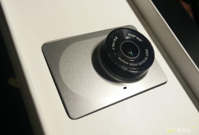 Xiaomi Yi FHD Car WiFi DVR