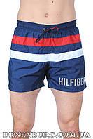 Мужские пляжные шорты TOMMY HILFIGER 0209 тёмно-синие