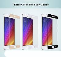 Защитное стекло для Xiaomi Mi Note 2 (чёрное, белое, розовое, золотистое)