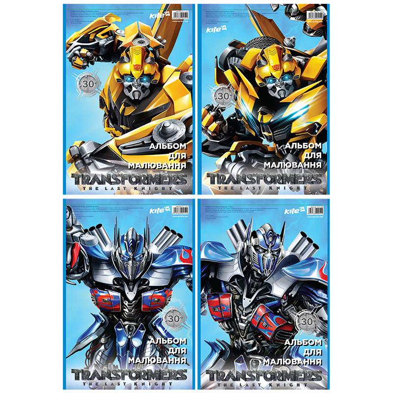 Альбом для рисования Transformers, 30 листов TF17-243