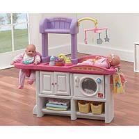 "Детский стол-пеленатор для игр с куклами ""Love & Care deluxe nursery"" 95х25х80 см Step 2"