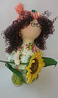 Цветочная фея, кукла Большеножка, Снежка, Hand Made