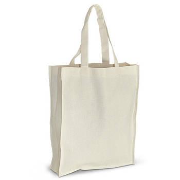 Еко-сумка для друку 35х10х42 див. з дном. Бавовна