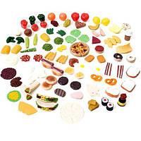 Набор овощей и фруктов для игр 101 шт Step 2