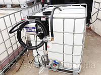 Мобильный топливный модуль на базе Еврокуба на 640 литров