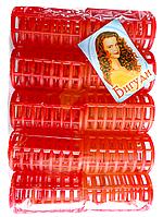 Пластмассовые бигуди с зажимом, 10 шт., (60 мм/30 мм)