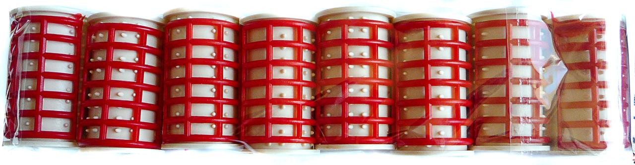Термобигуди с дыркой 8 шт., (50 мм/35 мм)