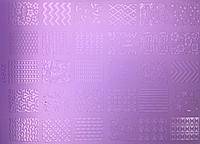 Пластиковая пластина для стемпинга F17 (10.5*14.5)