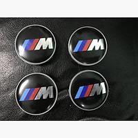 Заглушки в титановые диски М BMW 5 E60/61 (4шт)