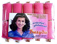 Бигуди для волос поролоновые с рамкой (ночные), средние, (58 мм/30 мм)