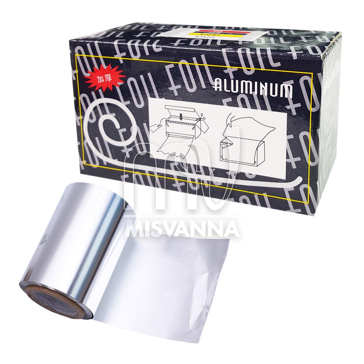 Фольга для снятия гель лака рулон с резаком, 50 м, ширина 10 мм