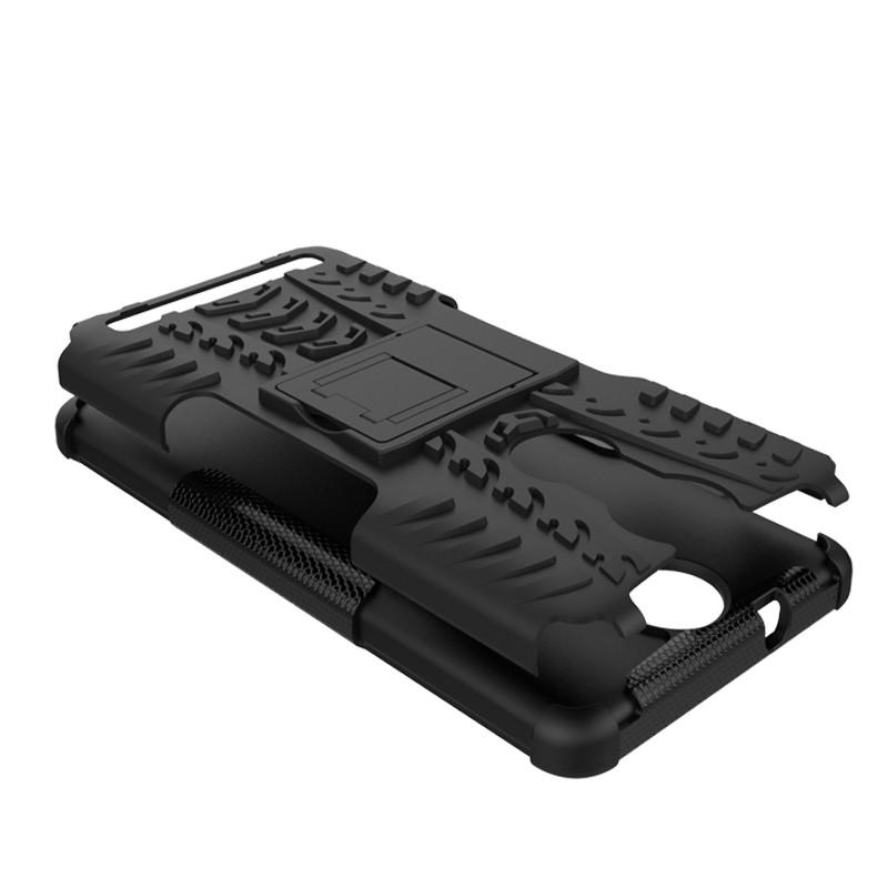 Чехол Lenovo A7020 / A7020a40 / A7020a48 / Vibe K5 Note / Vibe K5 Note Pro  противоударный бампер черный