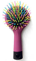 Rainbow volume S brush, щётка радуга с зеркалом
