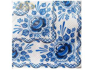 Декоративная двухслойная бумажная салфетка, классика
