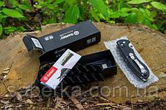 Нож универсальный Ganzo (черный, оранжевый, зеленый) G740-BK, фото 3