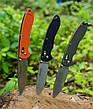 Нож универсальный Ganzo (черный, оранжевый, зеленый) G740-BK, фото 4