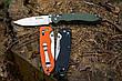 Нож универсальный Ganzo (черный, оранжевый, зеленый) G740-BK, фото 6