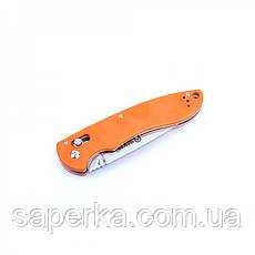 Нож универсальный Ganzo (черный, оранжевый, зеленый) G740-BK, фото 2