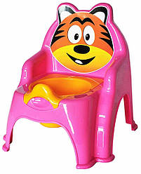 Горшок детский №1 розовый, арт. 013317