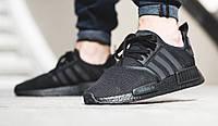 "Кроссовки Adidas NMD R1 Runner PK ""All Black"""
