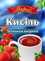"""Кисель клубничный  65г ТМ """"Впрок"""""""