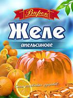 "Желе апельсиновое на желатине 80г ТМ ""Впрок"""