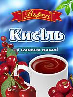 "Кисель вишнёвый 65г ТМ ""Впрок"""