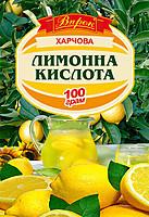 """Лимонная кислота 100г """"Впрок"""""""