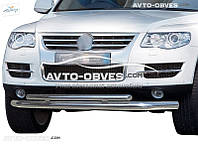 Защитная дуга двойная для Volkswagen Touareg 2002-2010