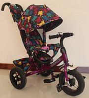 Трехколесный велосипед Tilly Trike T-363 5 фиолетовый