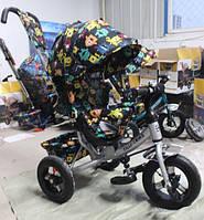 Трехколесный велосипед Tilly Trike T-363 4 серый