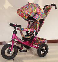 Трехколесный велосипед Tilly Trike T-363 2 малиновый