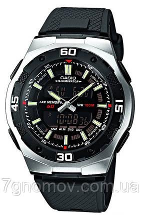 Часы наручные мужские CASIO Standard Combi арт. AQ-164W-1AVEF, фото 2
