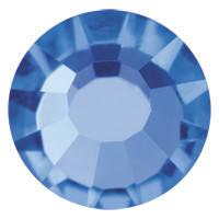 Пришивные паетки хрустальные Preciosa (Чехия) 3 мм Sapphire