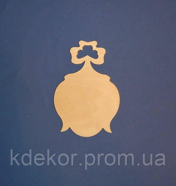 Дзвіночок (фанера 6мм.) дощечка заготівля для декупажу та декору