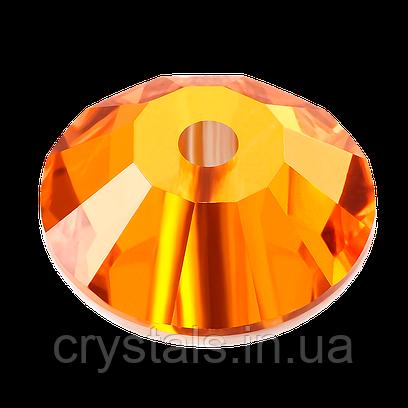 Пришивные паетки хрустальные Preciosa (Чехия) 3 мм Sun
