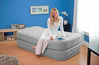 Надувная кровать со встроенным насосом 220В (99х191х51см) Intex 66964