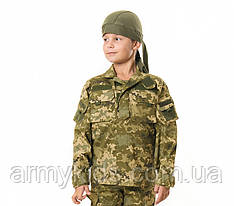 Куртка детская Киборг для мальчиков цвет камуфляж Пиксель рост 152-158