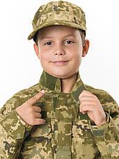 Куртка детская Киборг для мальчиков цвет камуфляж Пиксель рост 152-158, фото 3