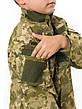 Куртка детская Киборг для мальчиков цвет камуфляж Пиксель рост 152-158, фото 4