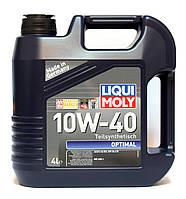 Liqui Moly Optimal SAE 10W-40 полусинтетическое моторное масло - 4 л.