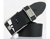 Мужской кожаный ремень levis (503) black