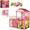 Кукольный домик для Барби 6982В с мебелью, фото 2