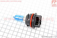 Лампа фары PH11 12V 40/40W (AF35/48) пластмасс. цоколь, синяя