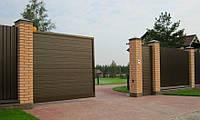 Комплект откатных ворот Alutech ADS400 (3000х2210)