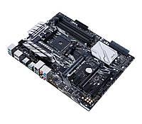 Мат.плата AM4 (X370) Asus PRIME X370-PRO, X370, 4xDDR4, SLI/CrossFireX, Int.Video(CPU), 8xSATA3, 1xM.2, 3xPCI-E 16x 3.0, 3xPCI-E 1x 2.0, ALCS1220A,