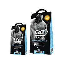 Наполнитель Cat Leader Wild Nature для кошек ультра-комкующийся глиняный, ароматизированный, 5 кг
