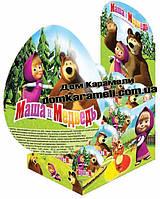 Шоколадное яйцо Маша и Медведь, 24 шт, 25 г (ANL)
