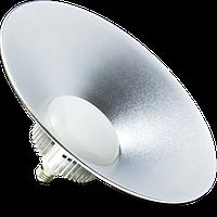 Светильник Lemanso LED IP44 + метал. отражатель 100W E27 8000LM 6500K серебро/ LM738