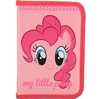 Пенал школьный Kite Little Pony 621 1 отделение, 1 отворот, без наполнения